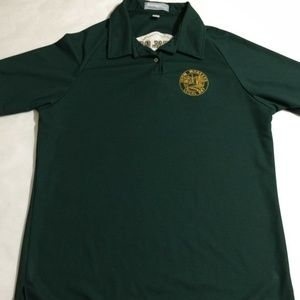 King Louie Union Iron Workers Local Polo Shirt M
